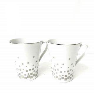 ジバンシィ(GIVENCHY)のジバンシィ GIVENCHY ロゴ カップ コップ 2客セット 食器 ホワイト(グラス/カップ)