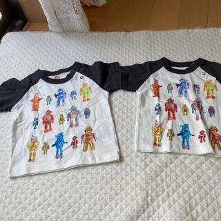 ハッカキッズ(hakka kids)の80サイズ90サイズシャツ(シャツ/カットソー)