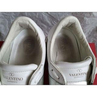 VALENTINO - Valentino オープン スニーカー メタリックバンド