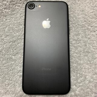 アップル(Apple)のiPhone7 128GB MAD BLACK(スマートフォン本体)