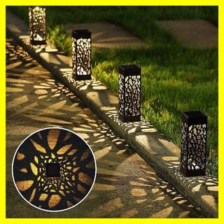 LED ソーラーライト 埋め込み式 ガーデンライト 6個セット(蛍光灯/電球)