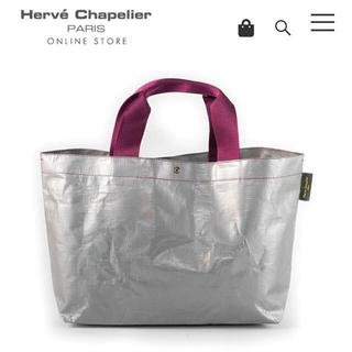 エルベシャプリエ(Herve Chapelier)のoya様専用✩エルベシャプリエ 2012pp グリ×オベルジーヌ♥(トートバッグ)