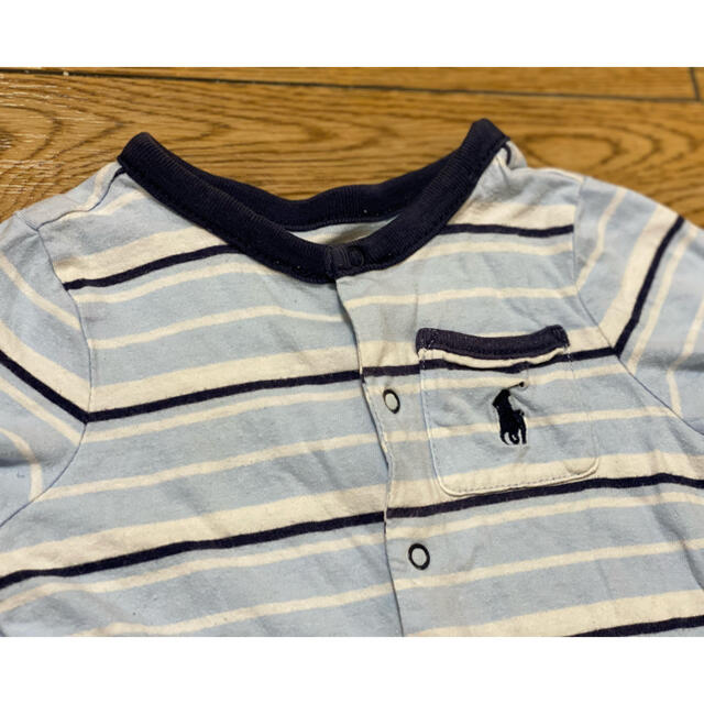 Ralph Lauren(ラルフローレン)の【激安ラルフローレン】ロンパース:サイズ60相当¥390  キッズ/ベビー/マタニティのベビー服(~85cm)(ロンパース)の商品写真