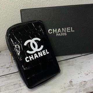 CHANEL - CHANEL ノベルティ  たばこポーチ  黒色