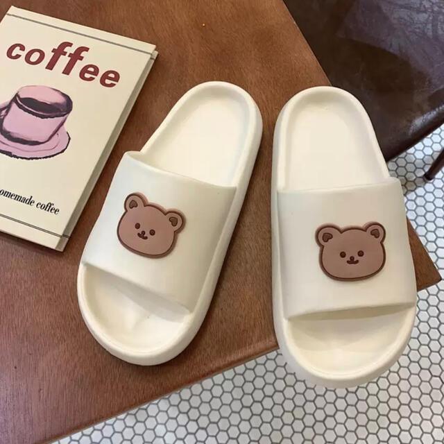 Francfranc(フランフラン)のクマさん ♡ サンダル スリッパ レディースの靴/シューズ(サンダル)の商品写真