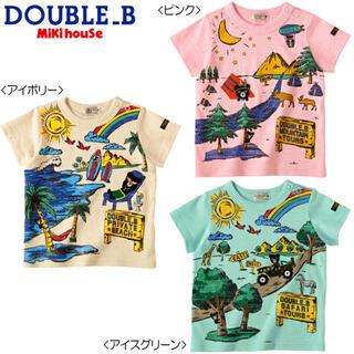 DOUBLE.B - 【美品】ミキハウスダブルビー☆半袖Tシャツ(100】