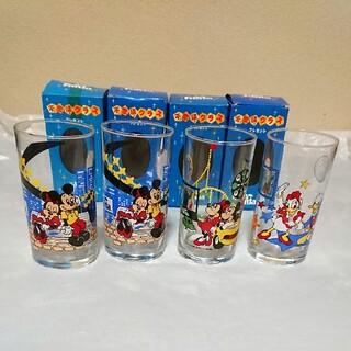 Disney - コカ・コーラ/ファンタ ノベルティディズニー 不思議グラス 3種4点セット