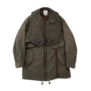 VISVIM - visvim 20aw paratrooper coat wtaps
