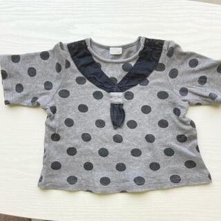 コンビミニ(Combi mini)の【値下げ】コンビミニ  水玉Tシャツ サイズ90 combimini 半袖(Tシャツ/カットソー)