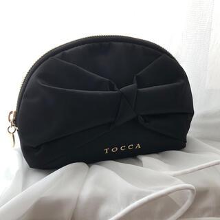 トッカ(TOCCA)のTOCCA  リボンデザインポーチ(ポーチ)