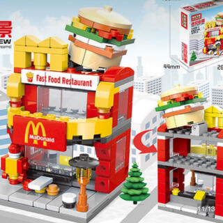 LEGO 互換性 マック レゴ ビルディングブロック ショップ おもちゃ(模型/プラモデル)