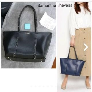 サマンサタバサ(Samantha Thavasa)のSamantha Thavasaサマンサタバサ★スタッズトートバッグ★ブラック(トートバッグ)