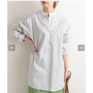 IENA - IENA ストライプバンドカラーシャツ
