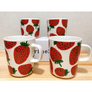 marimekko - マリメッコ マンシッカ ラテマグ マグカップセット