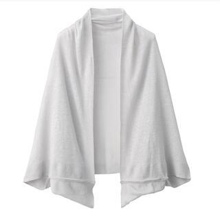 MUJI (無印良品) - MUJI 無印良品 UVカット フレンチリネンボレロ 135×35cm