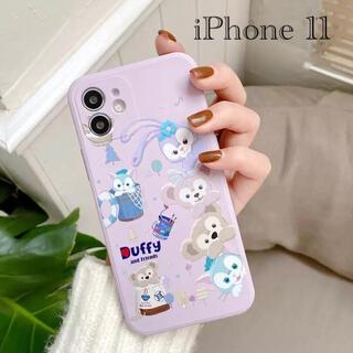 ディズニー(Disney)の新作 ダッフィーフレンズ iPhone 11 ケース ディズニー(iPhoneケース)