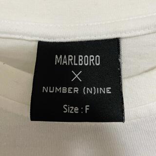 NUMBER (N)INE - MARLBORO×NUMBER (N)INE 半袖Tシャツ FREEサイズ レア