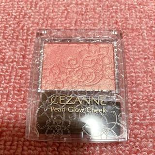 セザンヌケショウヒン(CEZANNE(セザンヌ化粧品))のセザンヌ化粧品 パールグロウチーク  P1 ゴールドピーチ(チーク)