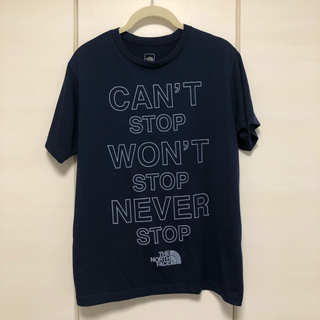 THE NORTH FACE - THE NORTH FACE Tシャツ ネイビー Mサイズ