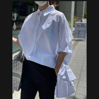 UNITED ARROWS - myine ドルマンスリーブデザインシャツ ホワイト