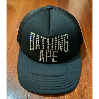 アベイシングエイプ(A BATHING APE)のA BATHING APE NEW YORK LOGO MESH CAP (キャップ)