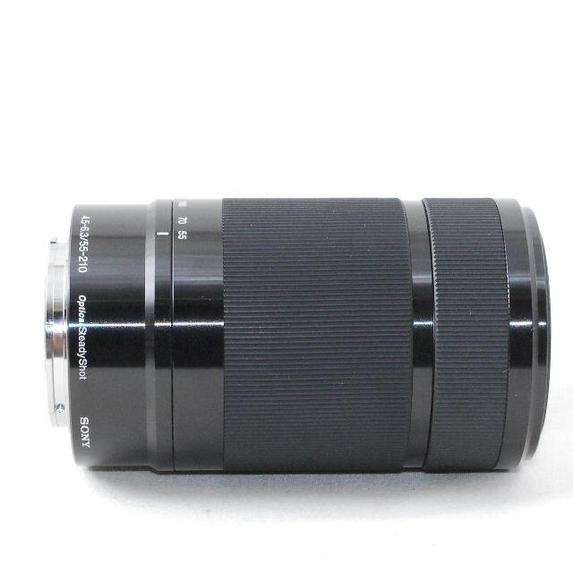 SONY(ソニー)の美品★超望遠! フード付 ミラーレス用★SONY 55-210mm OSS スマホ/家電/カメラのカメラ(レンズ(ズーム))の商品写真