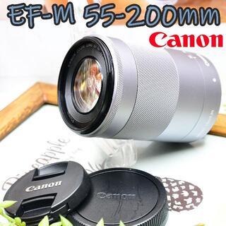 Canon - ✨ド定番望遠ズーム✨キヤノン ミラーレス用✨55-200mm望遠レンズ