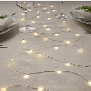 イケア(IKEA)のIKEA Salut! LEDライトチェーン(蛍光灯/電球)