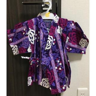 ニットプランナー(KP)のアナスイミニ  甚平 100㎝(甚平/浴衣)