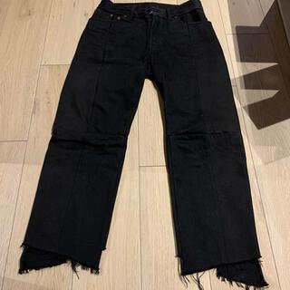 Balenciaga - VETEMENTS 再構築デニム black