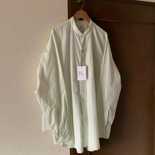 COMOLI - HERILL スビンコットンスタンドカラーシャツ size3