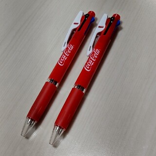 ジェットストリーム コカ・コーラ ボールペン 2本