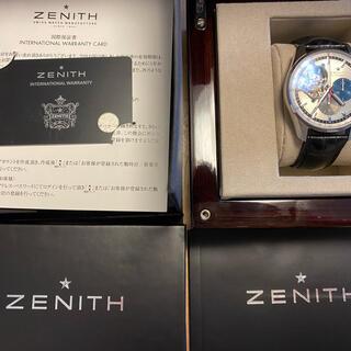 ZENITH - 国内正規ZENITHクロノマスター 1969保証書付2019OH済