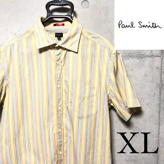 Paul Smith - Paul Smith ポールスミス 半袖シャツ ストライプ柄 オーバーサイズ