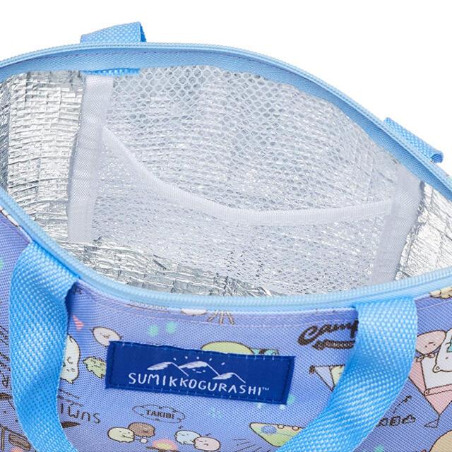 サンエックス(サンエックス)のすみっコぐらし 保冷ランチトートバッグ インテリア/住まい/日用品のキッチン/食器(弁当用品)の商品写真