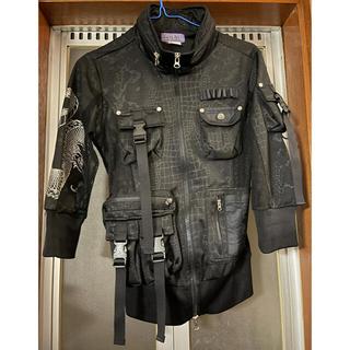 OZZON - Qutie Frash ジャケット 五分袖 ブラック