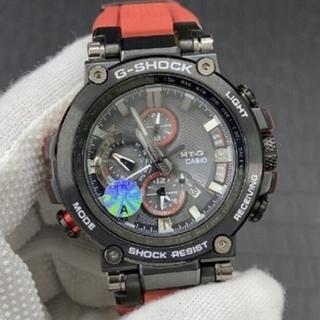 G-SHOCK - G-SHOCKカシオMTG-B1000 でんし電子とけー時計くろあか黒赤