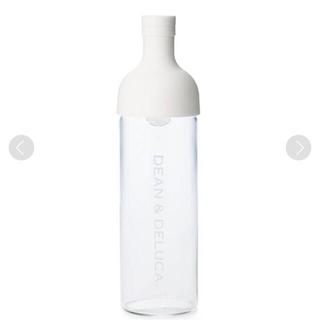 ディーンアンドデルーカ(DEAN & DELUCA)のディーンアンドデルーカ フィルターインボトル ホワイト 新品未使用(容器)