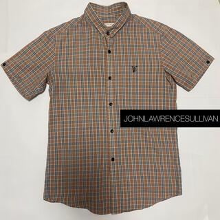 ジョンローレンスサリバン(JOHN LAWRENCE SULLIVAN)のジョンローレンスサリバン/半袖シャツ チェックシャツ(シャツ)