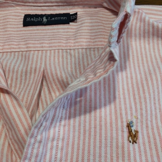 Ralph Lauren(ラルフローレン)のキッズ服男の子 ラルフローレン 半袖ポロシャツ キッズ/ベビー/マタニティのキッズ服男の子用(90cm~)(ブラウス)の商品写真