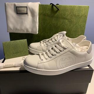 グッチ(Gucci)の美品 グッチ gucci エース スニーカー 27cm 靴(スニーカー)