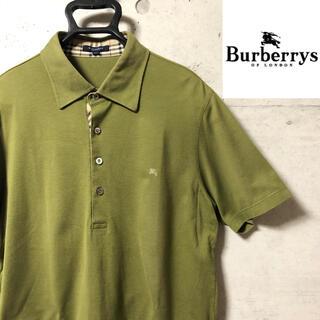 BURBERRY - Burberry LONDON バーバリー ポロシャツ ノバチェック XL