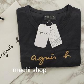 agnes b. - agnes b アニエスベー Tシャツ ブラック ゴールド 新品