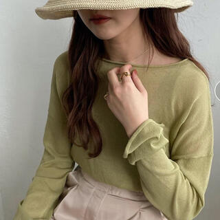 TODAYFUL - amiur  sheer pullover 新品タグ付き