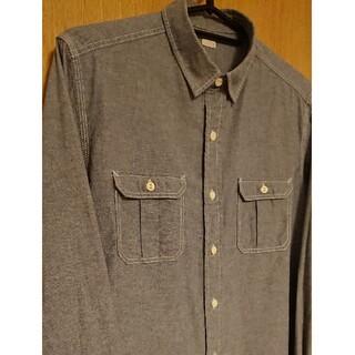 ジーユー(GU)の【GU】メンズカジュアルシャツ 長袖 Sサイズ(シャツ)