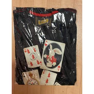 Karl Helmut - カールヘルム トランプうさぎ柄 Tシャツ 2枚セット 未使用