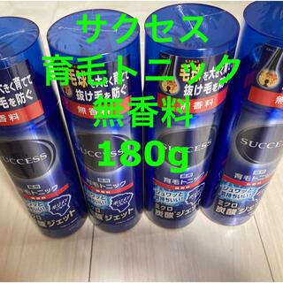 花王 - サクセス 薬用育毛トニック 無香料 180g×4本
