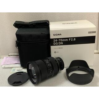 SIGMA - シグマ 24-70mm F2.8 DG DN ART ソニーEマウント 極美品