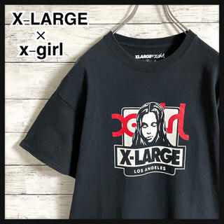 XLARGE - 【入手困難】エクストララージ×エクストラガール☆ビッグロゴ 半袖Tシャツ 美品