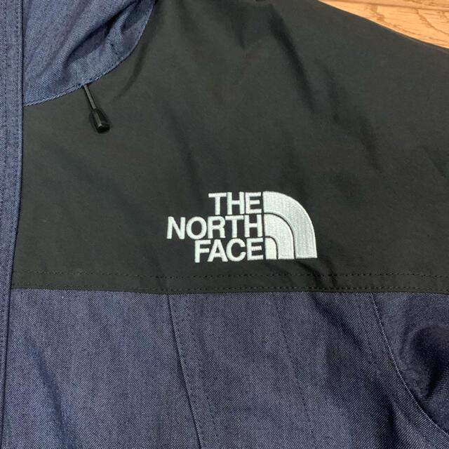 THE NORTH FACE(ザノースフェイス)の【THE NORTH FACE 】マウンテンライトデニム ジャケット メンズのジャケット/アウター(マウンテンパーカー)の商品写真